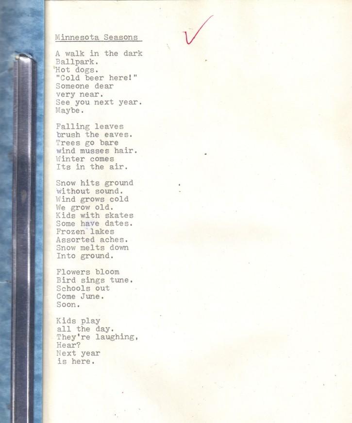 First Poem (2)